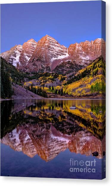 Reflecting Dawn Canvas Print