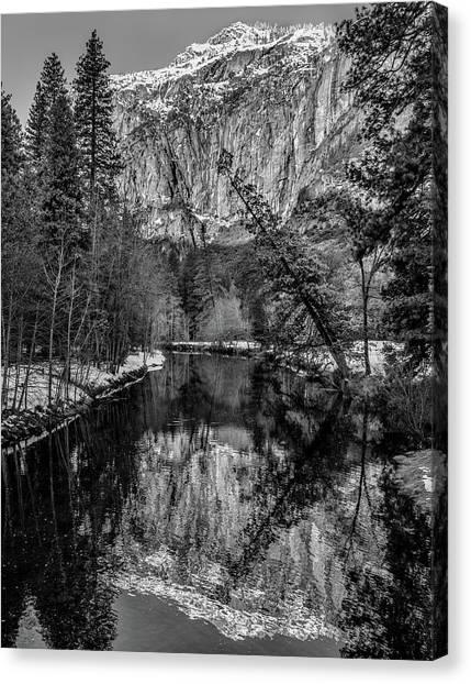 El Capitan Canvas Print - Reflecting El Cap by Joseph Smith