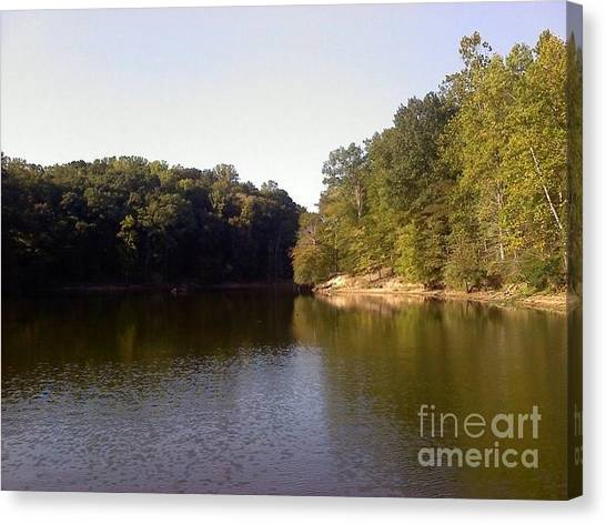 Reflecting Water Canvas Print