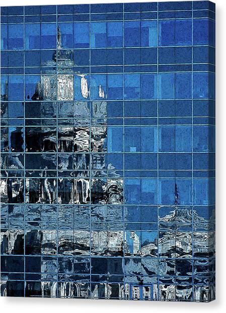 Reflection And Refraction Canvas Print