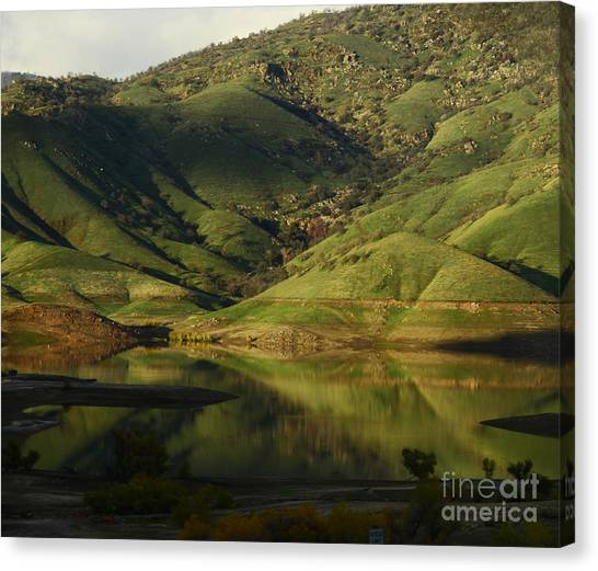 Reflection And Shadows Canvas Print