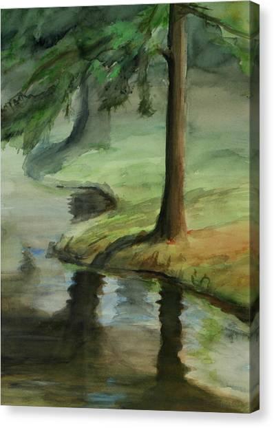 Reflection Canvas Print by Lori McCray