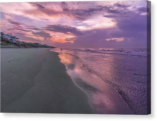 Reflection Of The Dawn Canvas Print