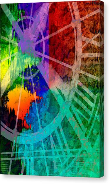 Reflection Of Time Canvas Print