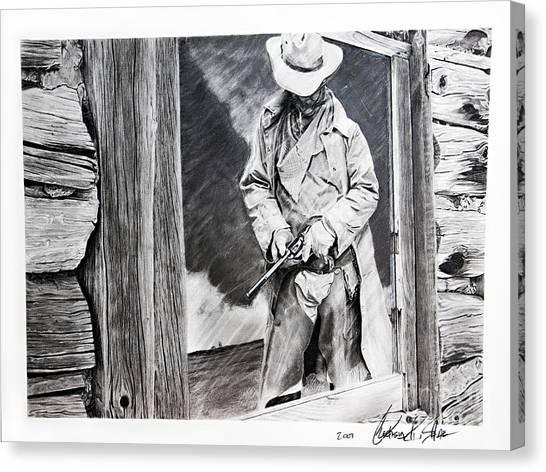 Reflection Canvas Print by Raymond Potts