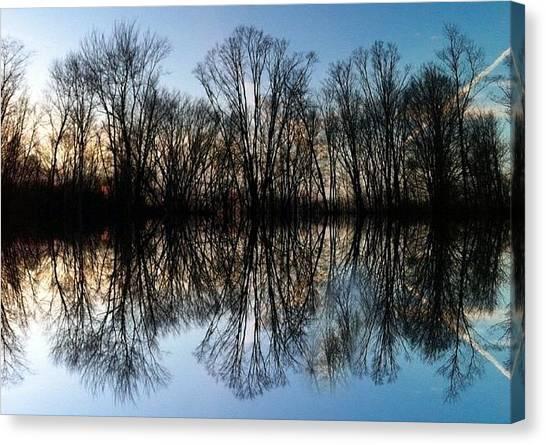 Trail Canvas Print - Reflections by Annie Walczyk