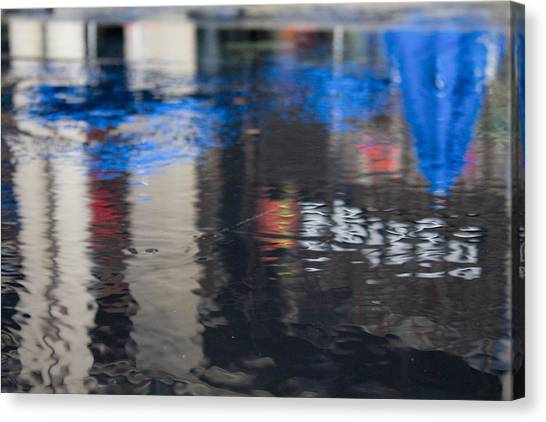 Canvas Print featuring the photograph Reflections by Break The Silhouette