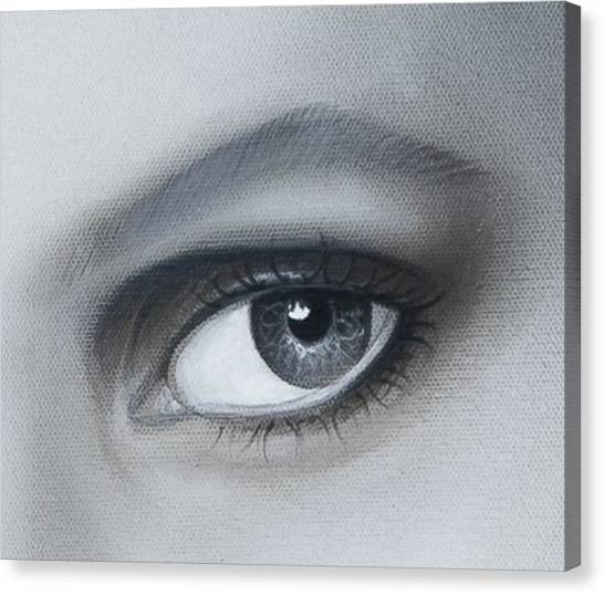 Reflections Eye Canvas Print by Joshua South