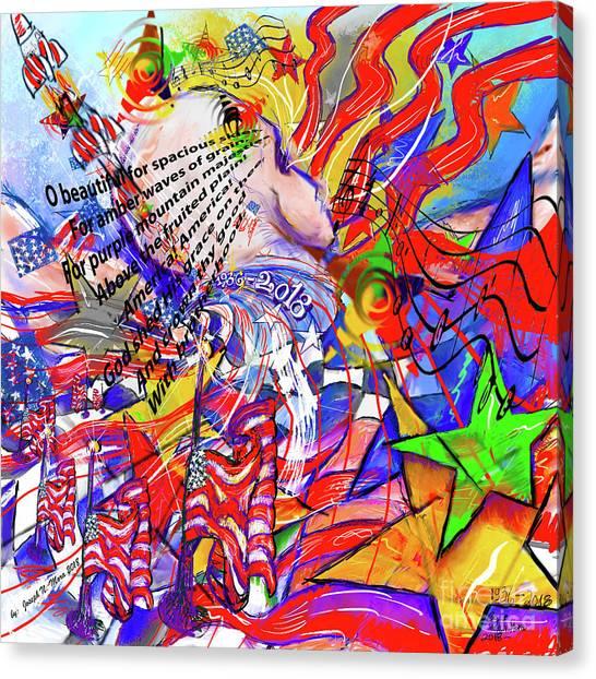 John Mccain Canvas Print - Reflections  by Joseph Mora