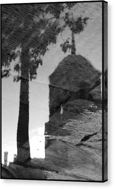 Reflections Canvas Print by Julia Bridget Hayes