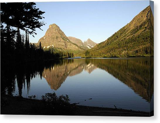 Reflections Canvas Print by Keith Lovejoy