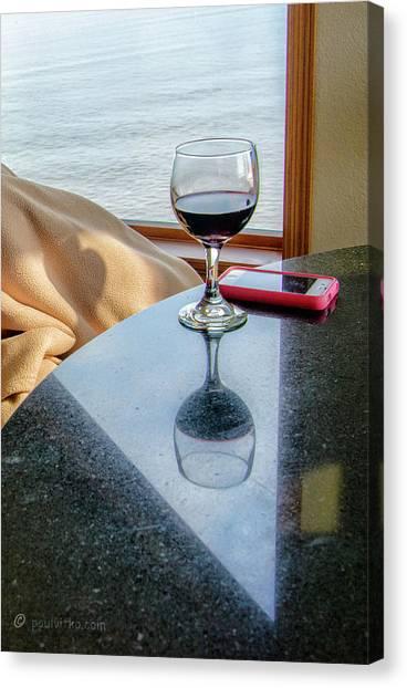 Reflections Lake Superior.... Canvas Print
