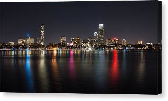 Reflections Of Boston Canvas Print