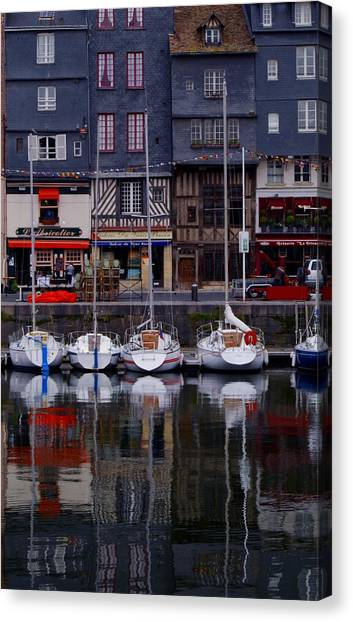 Reflections Of France Canvas Print
