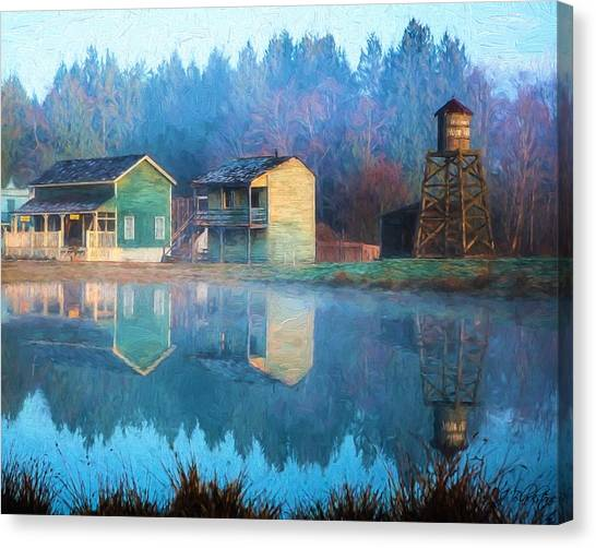 Reflections Of Hope - Hope Valley Art Canvas Print