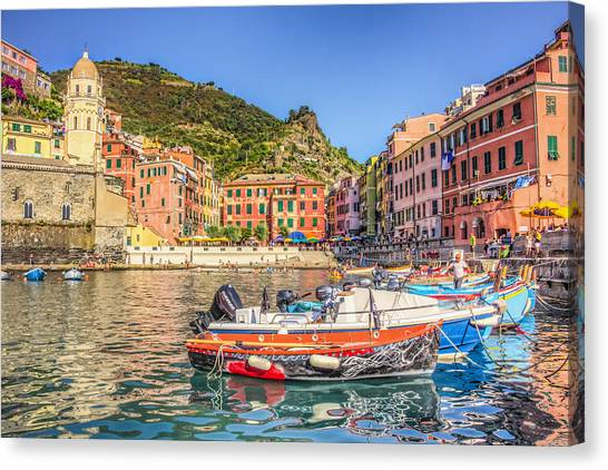 Reflections Of Italy Canvas Print