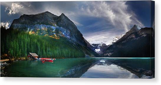 Reflections Of Canvas Print