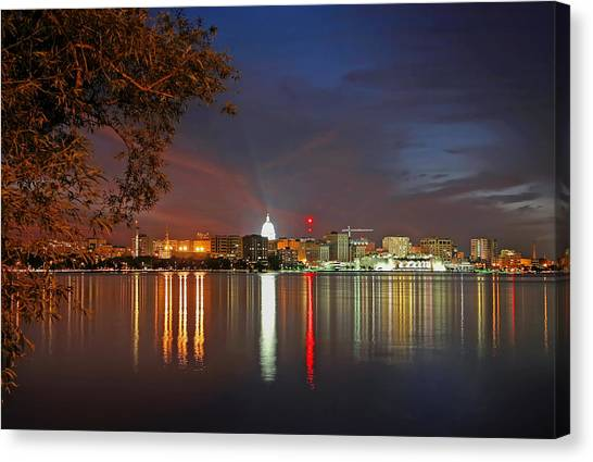 Reflections Of Madison Canvas Print
