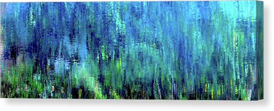 Reflections Of Monet 8155 H_12 Canvas Print