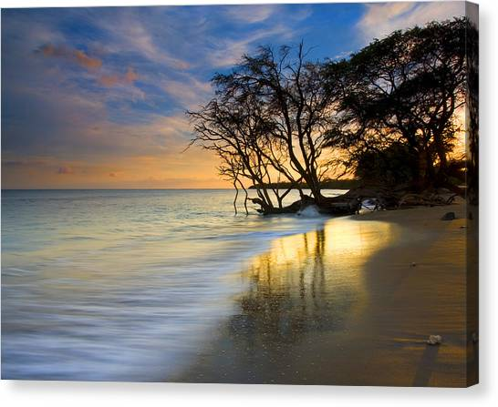 Reflections Of Paradise Canvas Print