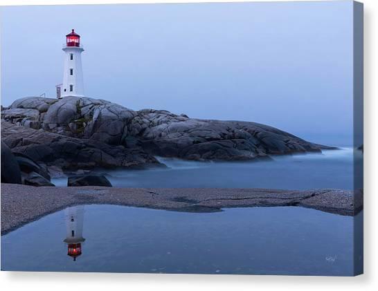 Nova Scotia Canvas Print - Reflections Of Peggy by Everet Regal