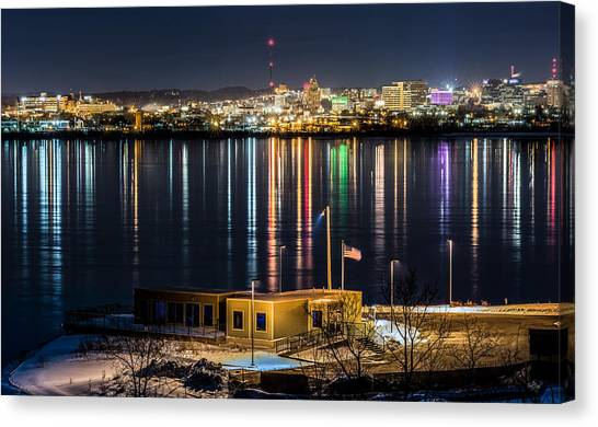 Syracuse University Canvas Print - Reflections Of Syracuse by Everet Regal