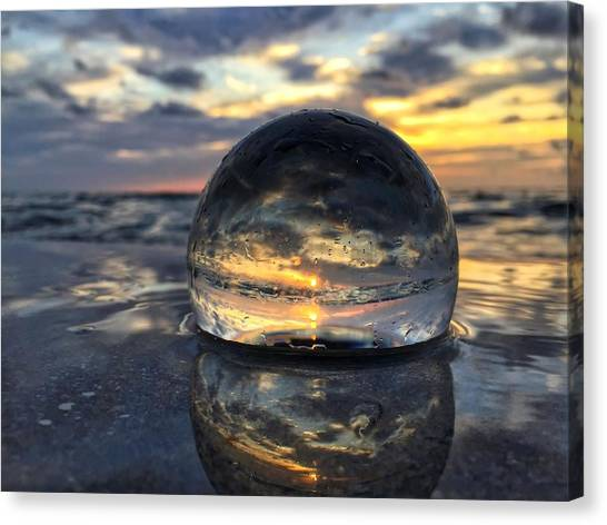 Reflections Of The Crystal Ball Canvas Print