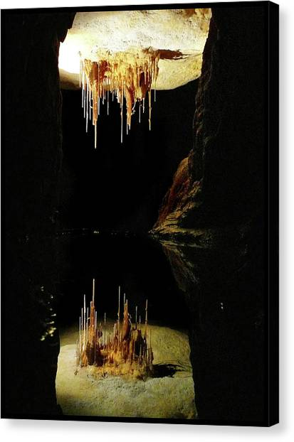 Reflections Of The Underworld Canvas Print