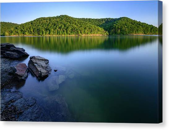 Reflections Of Tranquility Canvas Print