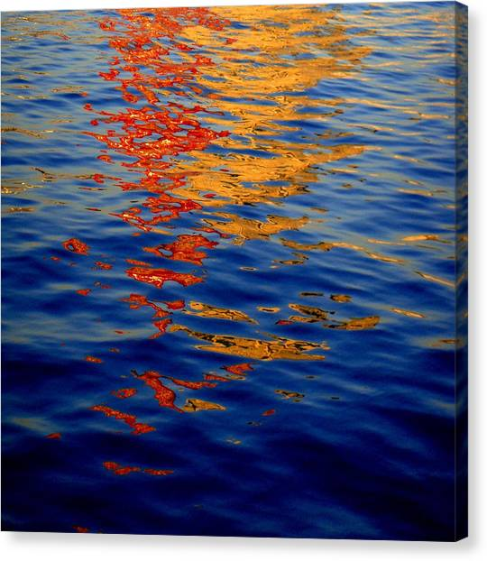 Reflections On Kobe Canvas Print