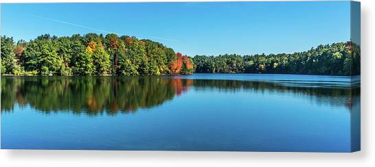 Reflections Pano Canvas Print