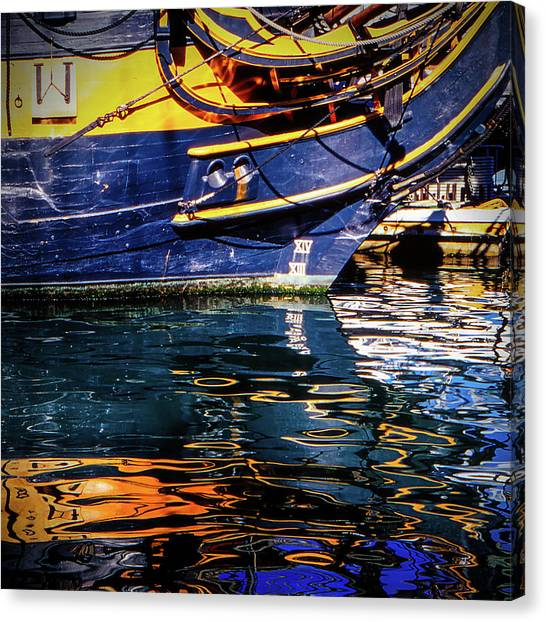 Canvas Print featuring the photograph Reflections by Samuel M Purvis III