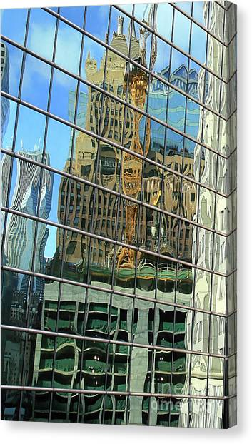 Reflective Chicago Canvas Print