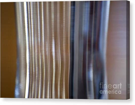 Refraction In Glass Canvas Print