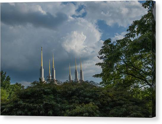 Regal Spires Canvas Print