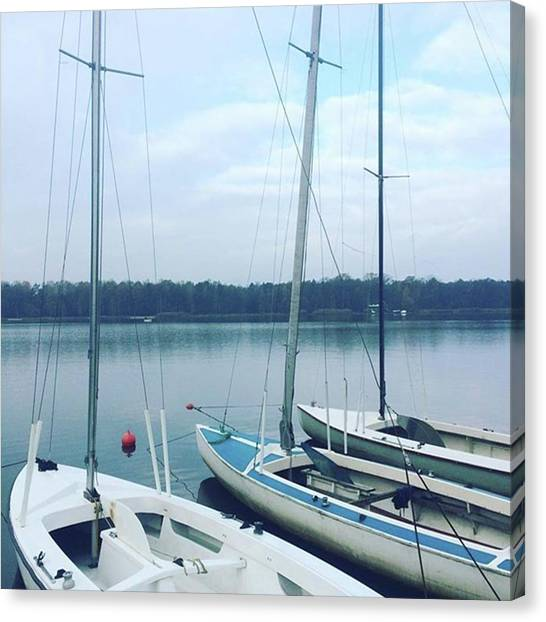 Independent Canvas Print - #regatta #regaty #omega #sailing #sail by Bartosz Topolski
