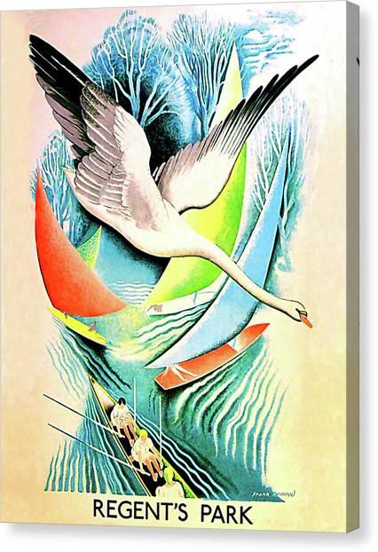 Storks Canvas Print - Regent Park by Long Shot