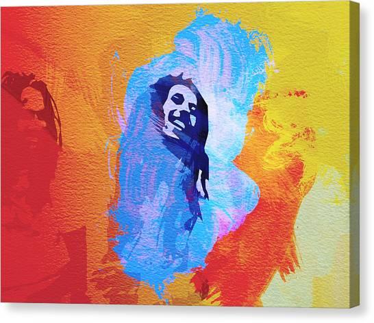 Jamaican Canvas Print - Reggae Kings by Naxart Studio