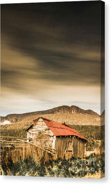 Derelict Canvas Print - Regional Ranch Ruins by Jorgo Photography - Wall Art Gallery