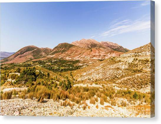 Mountain Ranges Canvas Print - Regional Ruggedness by Jorgo Photography - Wall Art Gallery