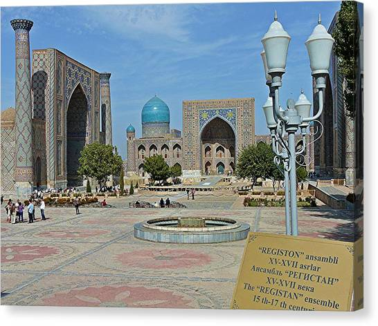 Registan Overview Canvas Print