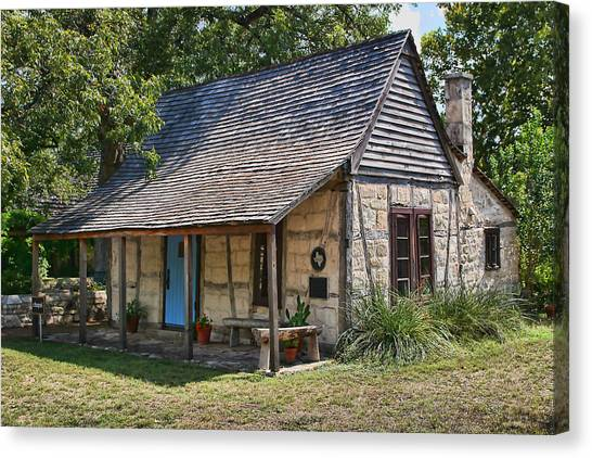 Registered Early Texas Dwelling Canvas Print