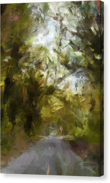 Regnskog Canvas Print