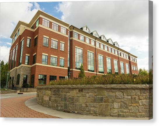 Appalachian State University Asu Canvas Print - Reich College Of Education Building. by Bryan Pollard