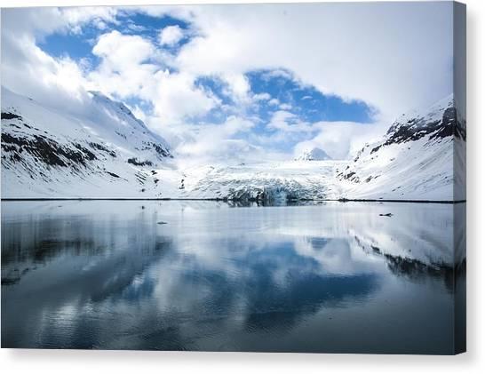 Reid Glacier Glacier Bay National Park Canvas Print
