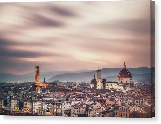 Florence Canvas Print - Reign In Glory by Evelina Kremsdorf