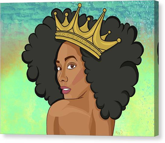 Magicians Canvas Print - Reigning Queen by The King Gallery