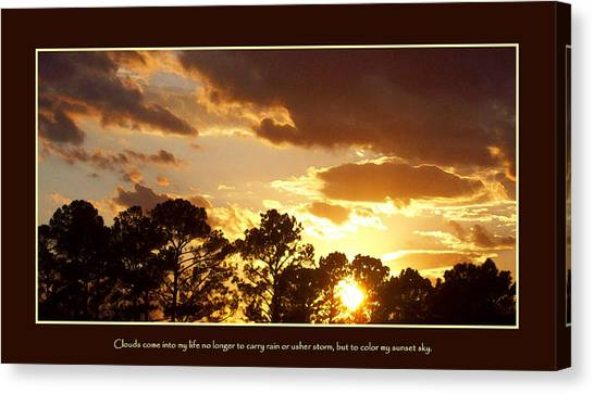 Canvas Print - Rejoice by Ginger Howland