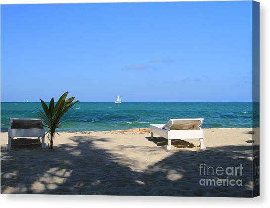 Relax And Enjoy Canvas Print