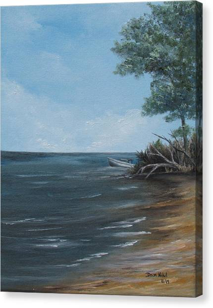 Relaxation Island Canvas Print
